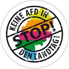 Stop! Keine AfD in den Landtag