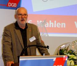 Ernst Richter, DGB-Kreisvorsitzender gewählt am 05.12.2011