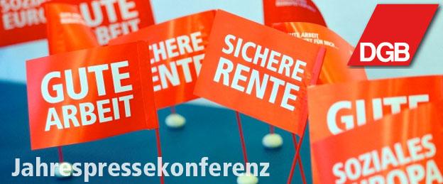 Jahrespressekonferenz des DGB-Mittelhessen