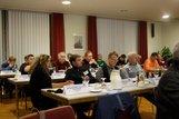 Die Delegierten der acht DGB Mitgliedsgewerkschaften